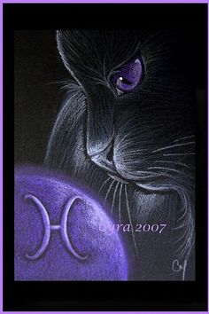 BLACK CAT - PISCES BY CYRA R. CANCEL