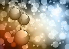 Abstract Bokeh Background Christmas ~ StudioPk