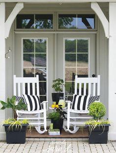 Pretty patio space
