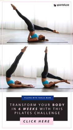 The At-Home Pilates Workout That'll Tone Your Whole Body #Pilates