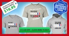 Normally $29, but since you are (or not) a French Teacher or Student , you can get yours today for only $16.95 AND it is a collector's item! French Made! These are only available for 14 Days!