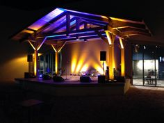 Outdoor performance area in Chesterfield, MO