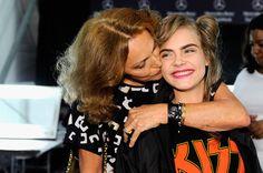 Cara Delevingne Photos: Diane Von Furstenberg - Backstage - Fall 2013 Mercedes-Benz Fashion Week