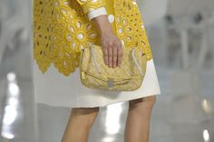 Louis Vuitton Paris 2012 yellow yes!