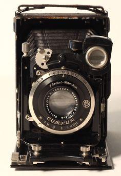 F Deckel Munchen Camera Compur Shutter Vintage Folding Camera | eBay