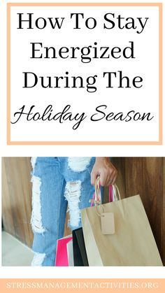 How to stay energized during the holiday season. How to have a stress free holiday! Stress Free, Stress Relief, Feeling Fatigued, Holiday Stress, Big Meals, Eat Smart, Relaxing Music, Energy Level, Eat Breakfast