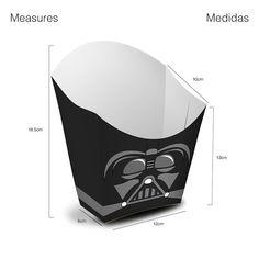 6 Popcorn Box Star Wars Vol I por Migueluche en Etsy