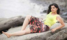 Neha Pednekar winner of Shravan Queen 2014 during outdoor photoshoot Shravan Queen 2014  Picture Courtesy: Tejas Nerurkar