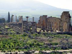 Volubilis - ruines en omgeving