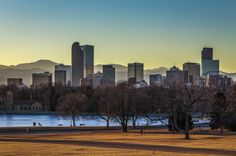 The Aurora Dam and Sloan's Lake are the best places to get a view of Denver.