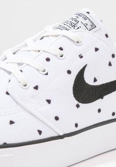 Nike SB ZOOM STEFAN JANOSKI CNVS PRM - Zapatillas - summit white/black - Zalando.es