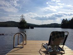 A relaxing afternoon on a Bestmade Dock.
