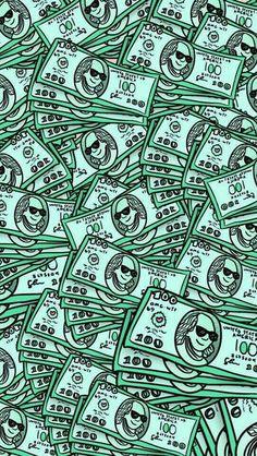 Imagem de wallpaper, money, and background
