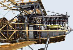 Albatros DVa by Mark W. Miller (Virtual Model No Scale)
