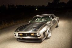 Bare-Metal 1971 Mustang Convertible Is All Killer, No Filler: Masterpiece in Metal