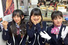 Shu Yabushita x Nagisa Shibuya x Chihiro Kawakami https://twitter.com/_Nagisa_Shibuya/status/645928618552496129