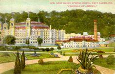 West Baden Springs Hotel, West Baden, Indiana