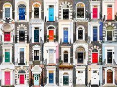 そこには文化があり個性がある。ヨーロッパ各地のドアと窓の違いが判る「世界の窓・世界のドア」 イギリス
