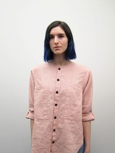 Unisex 69 Chill Dude Shirt in Dusty Rose ($310)