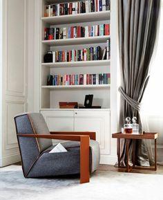Poltrona per angolo lettura - Come abbinare il divano alla poltrona dell'angolo lettura.