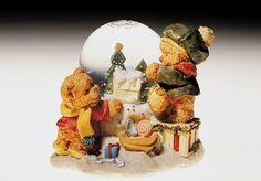 Teddy Bears, snowglobe, 20th century