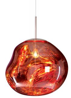 Suspension Melt / Ø 50 cm Cuivre - Tom Dixon - Décoration et mobilier design avec Made in Design