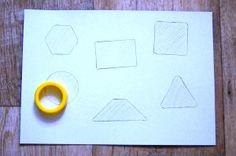 Игры с геометрическими фигурами. Найди фигуру