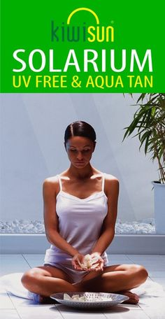 Safe bronzing skin care from a high tech solarium, Spa Tanning experience and UV free Aqua Tan