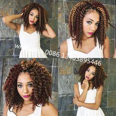 2016 Hot Selling Havana Mambo Twist Crochet Braid Hair 12roots/piece