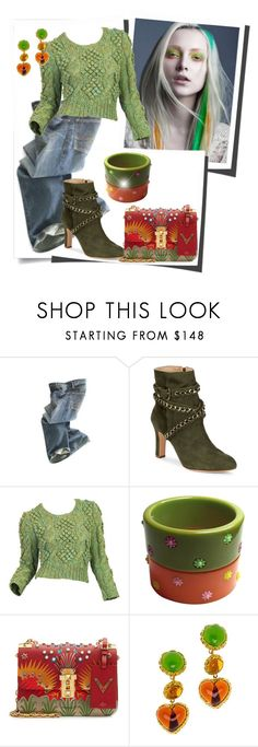 """""""Casual Friday"""" by doozer ❤ liked on Polyvore featuring Polo Ralph Lauren, Schutz and Chanel"""