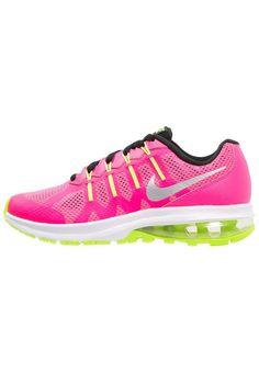 #Nike #Performance #AIR #MAX #DYNASTY #Sneaker #low #hyper #pink/metallic #silver/white/black/volt für #Kinder