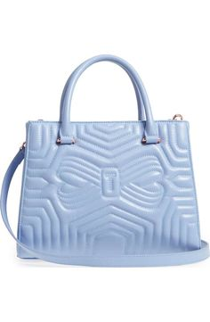 0ce8938b86ffcd Ted Baker London Quilted Bow Leather Tote