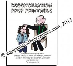 know anyone preparing for First Reconciliation? FREE printable!