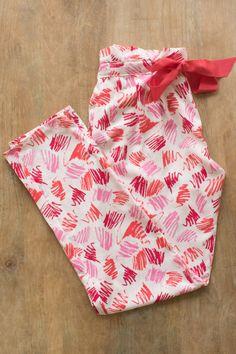 Pantalon pyjama - Make My Lemonade. Sewing Hacks, Sewing Tutorials, Sewing Patterns, Sewing Tips, Dress Tutorials, Skirt Patterns, Blouse Patterns, Sewing Ideas, Coin Couture