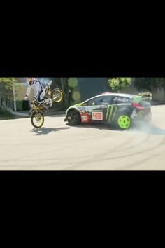 Ken Block and Travis Pastrana two of the best athletes ever