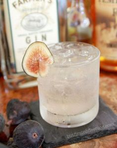 Fig and Cardamom Gin & Tonic - But First, Coffee | Connecticut-Based Lifestyle Blog