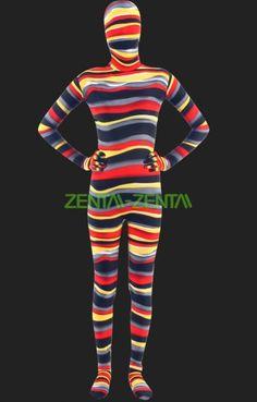 Mult-Color Lycra Spandex Unisex Full-body Zentai Suit - $38.00