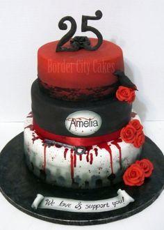 the vampire diaries birthday cakes - Pesquisa do Google