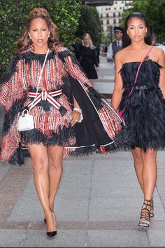 Marjorie and Lori Harvey May Be The Chicest Mother-Daughter Duo—Here's Proof! Marjorie Harvey, Lori Harvey, Steve Harvey, Mother Daughter Fashion, Mom Daughter, Daughters, Fashion Games, Fashion Outfits, Queen Fashion