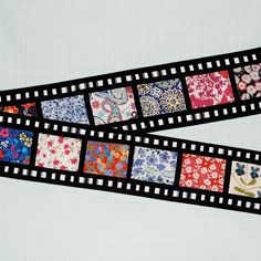 Liberty film strip for Amy Badskirt by Lynne @ Lilys Quilts, via Flickr
