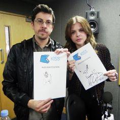 CHLOE MORETZ  BBC RADIO WITH MINTZ  PLASSE   The Billy Files: Photo : クロエ・モレッツちゃんと ...
