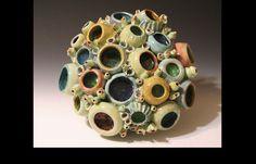Coral Reef inspired artwork by artist Diane Martin Lublinski | ClayForms by Diane Martin Lublinski