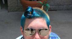 coiffure originale homme