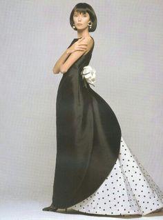 Valentino Haute Couture ad, S/S 1988