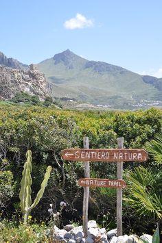 Sicilian landscape - San Vito lo Capo