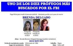 El FBI había incluido a Delgado que estaba prófuga de la justicia desde hace 7 meses en la lista de los 10 fugitivos más buscados