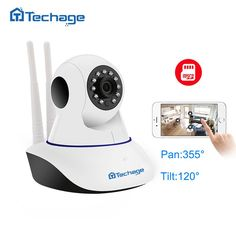 Cheap cctv surveillance, Buy Quality wifi directly from China wifi ip Suppliers: Techage Home Security Wifi IP Camera Audio Record SD Card Onvif HD CCTV Surveillance Wireless Camera Baby Monitor Mini Wireless Camera, Wireless Security Cameras, Cctv Surveillance, Security Surveillance, Security Alarm, Smart Home Security, Home Security Systems, House Security, Audio
