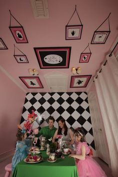The Alice Room. I have been to their house. Seriously coolest room ever!!!!