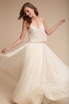 Cailey Top & Amora Skirt | BHLDN