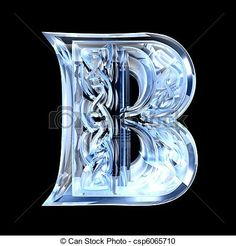 Stock Illustration - Illustration of Celtic alphabet letter B - stock illustration, royalty free illustrations, stock clip art icon, stock clipart icons, logo, line art, pictures, graphic, graphics, drawing, drawings, artwork